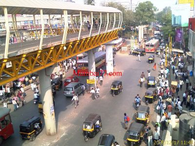 Borivali Skywalk View