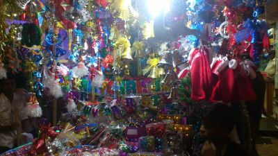 Christmas Decoration Material Shop