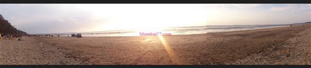 Jampore Beach Panoramic View