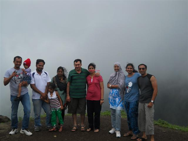 Group Picnic at Lonavala in Monsoon