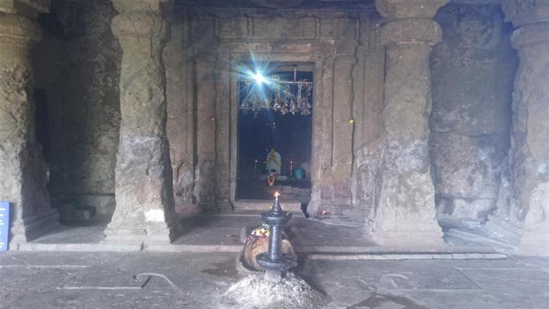 Lord Shiva Temple Inside