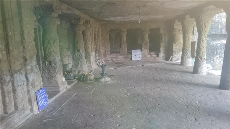 Main Entrance Area Of Caves