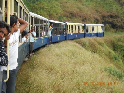 Matheran's Mini Toy Train