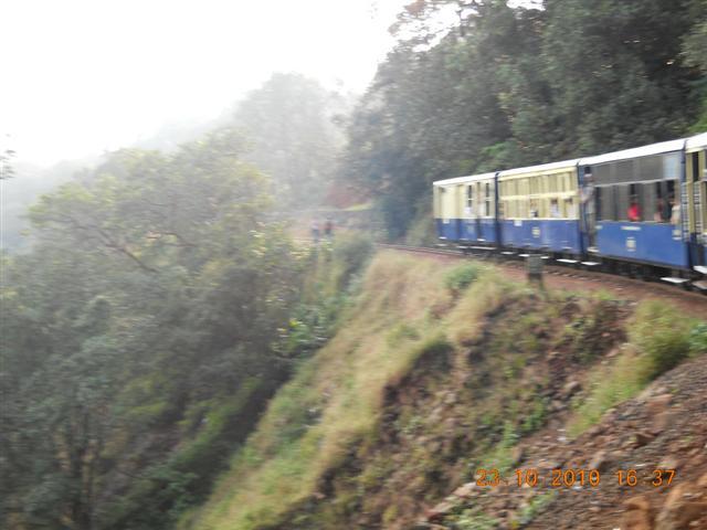 Train Ride On Sloppy Mountains of Matheran