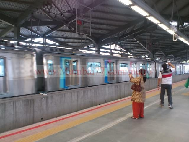 Excited Commuters Clicking Pictures