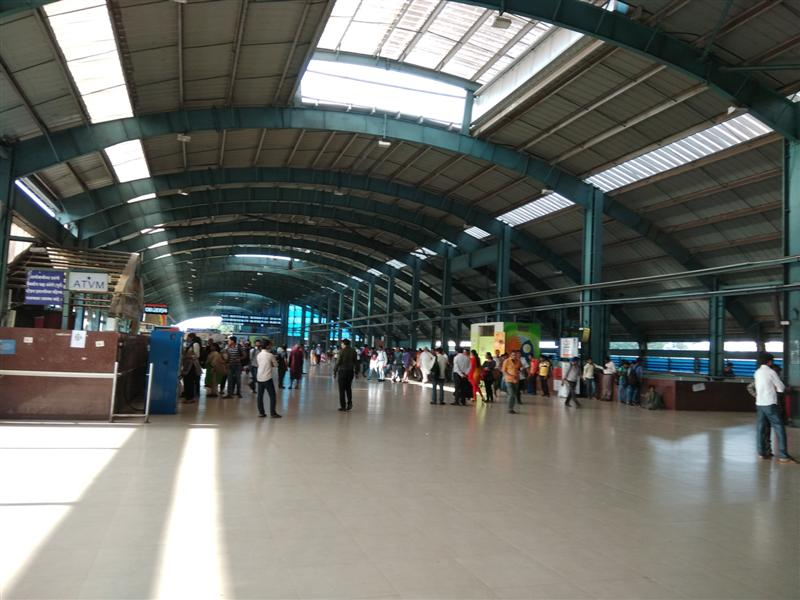 Renovated Railway Station Elevated Premise is Spacious
