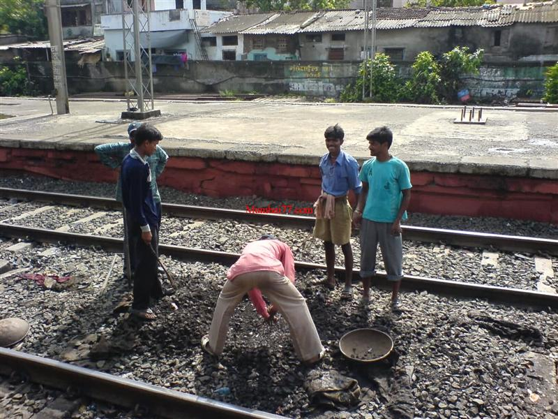 Railway Repair Workers in Happy Mood