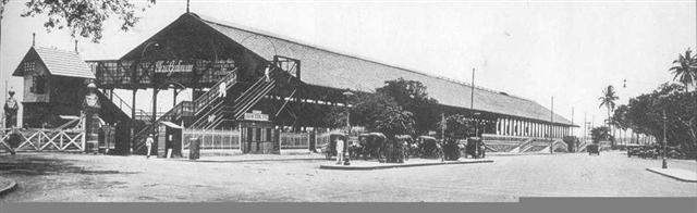 Old Churchgate Railway Station