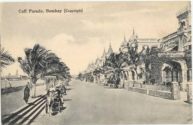 That Old Photo Of Cuff Parade in Mumbai
