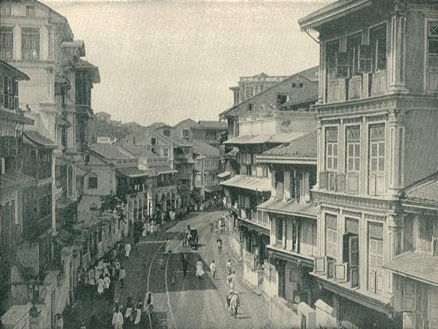 Kalbadevi Streets in Bombay Era