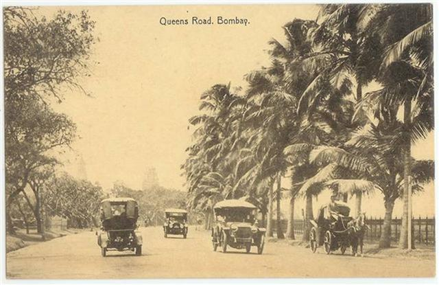 That is Queen's Road of Bombay Era