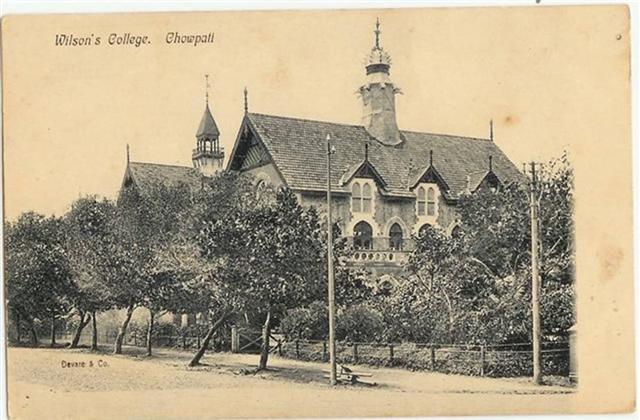 Old Wilson College Opposite Chowpatty Beach