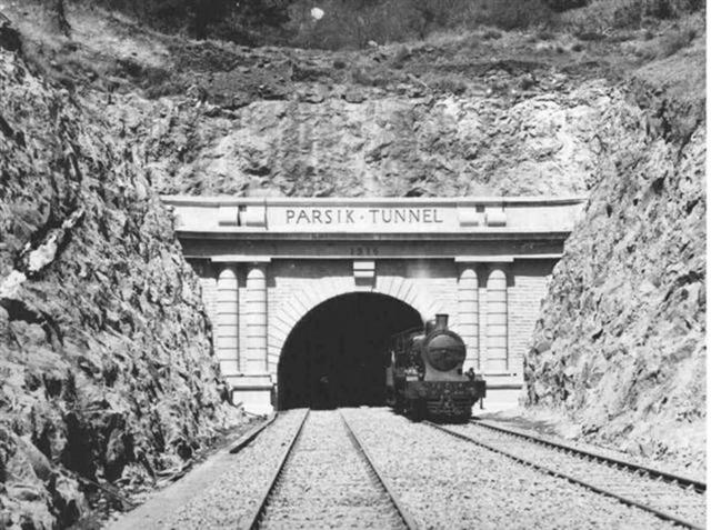 Rare old Click Of Parsik Tunnel Thane