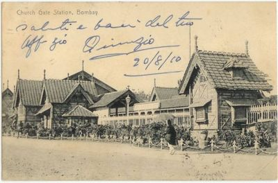Old Churchgate Station Mumbai