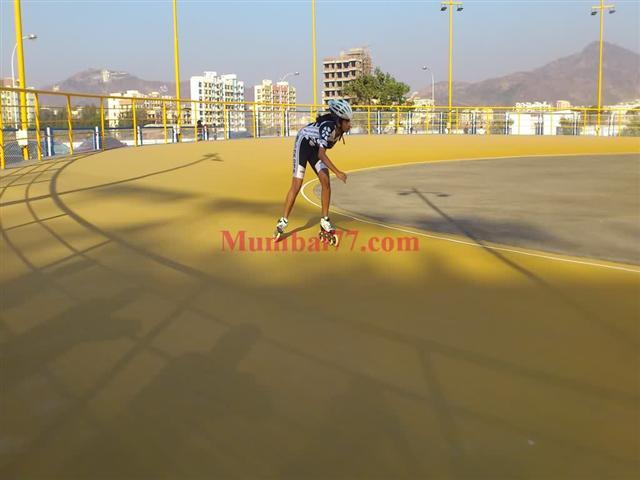 Roller Skating Ground at Virar's Ameya Classic Club