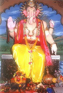 Lalbaugcha Raja Year 1999
