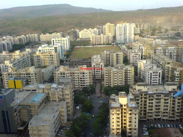 Mumbai's Kandivali  Area Aerial View