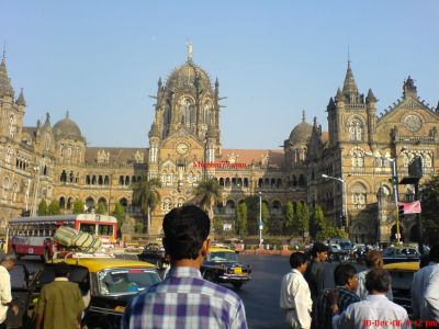 Mumbai CST Railway Station Building View