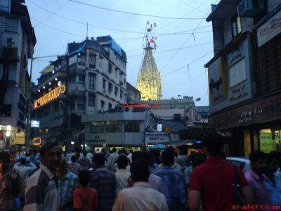 Shree Mumbadevi Mata Temple in South Mumbai