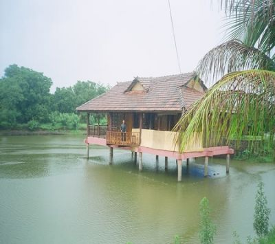 Saguna Baug Pond House