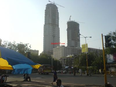 Twin Tower Building Near Mumbai Central Station
