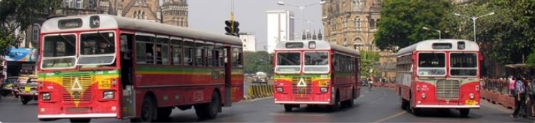 BEST buses on Roads of Mumbai