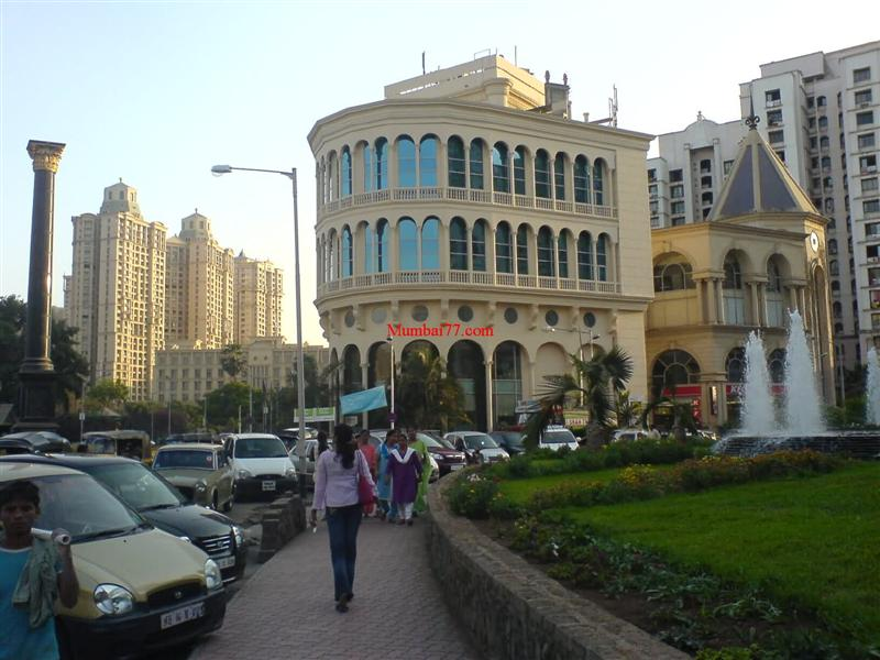 Old Buildings Inside Hiranandani Powai