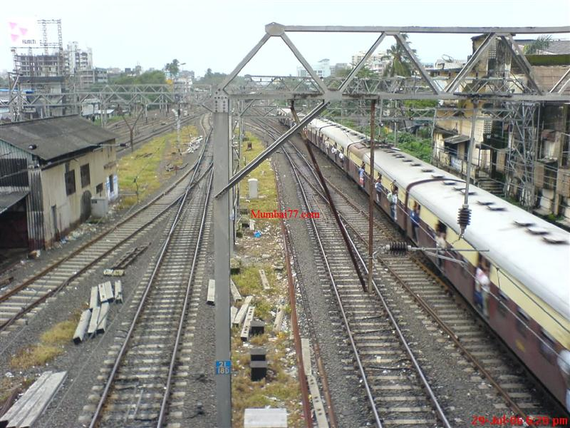 Andheri Local Train View