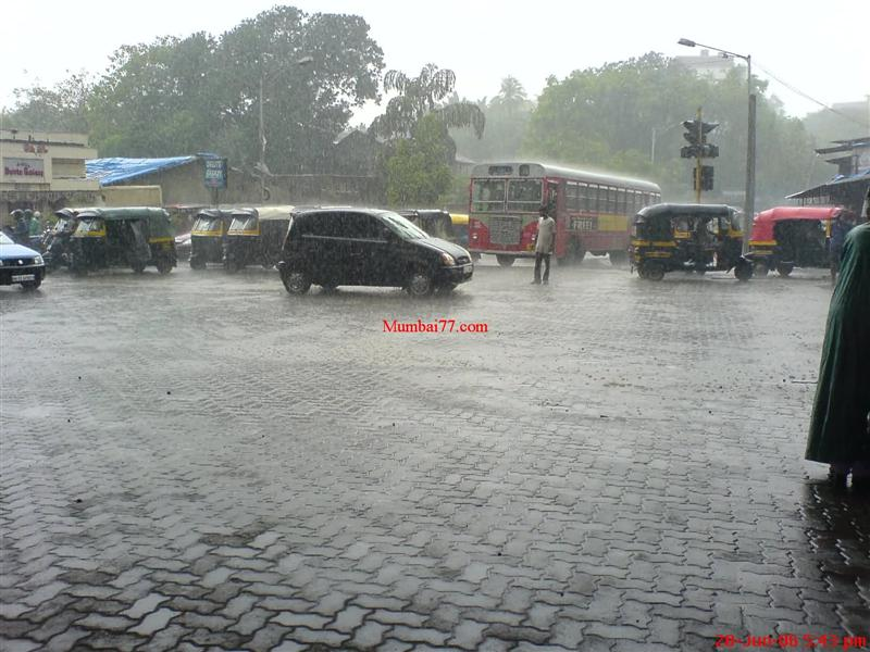 Andheri Highway Monsoon Days