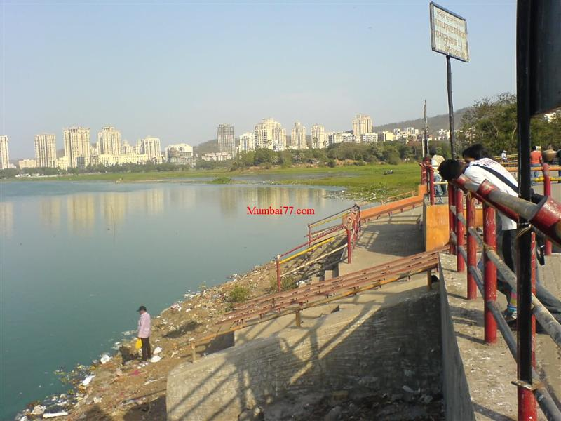 Old View of Powai Lake