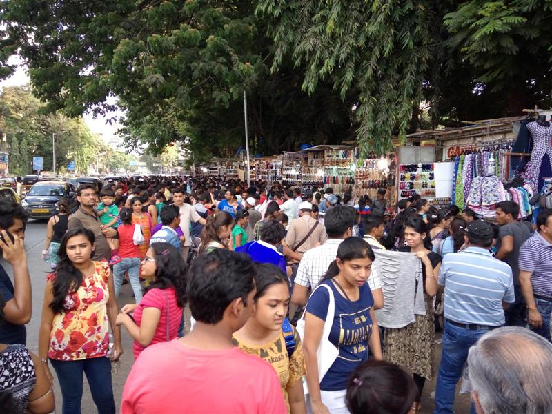 The Excitement at Linking Road Still Continues