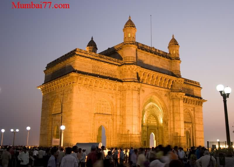 Old Gateway Of India Evening View