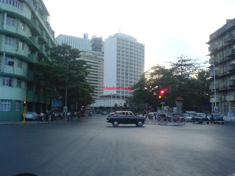 Mantralaya Road a decade back