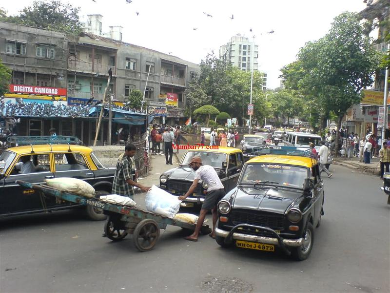 Daily Life Old Streets of Dadar