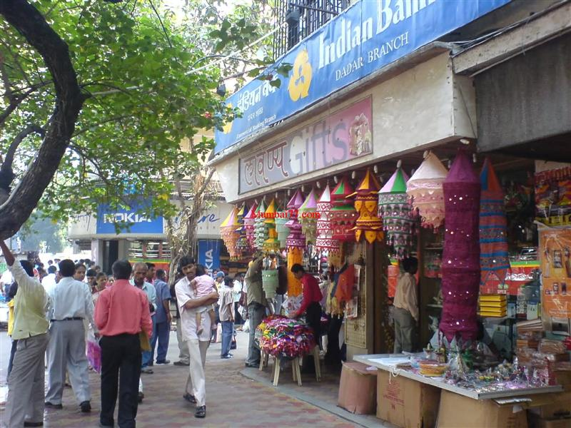 Old Dadar Market Street View