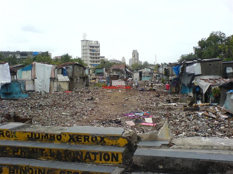 Slum Redevelopment under Process in 2006