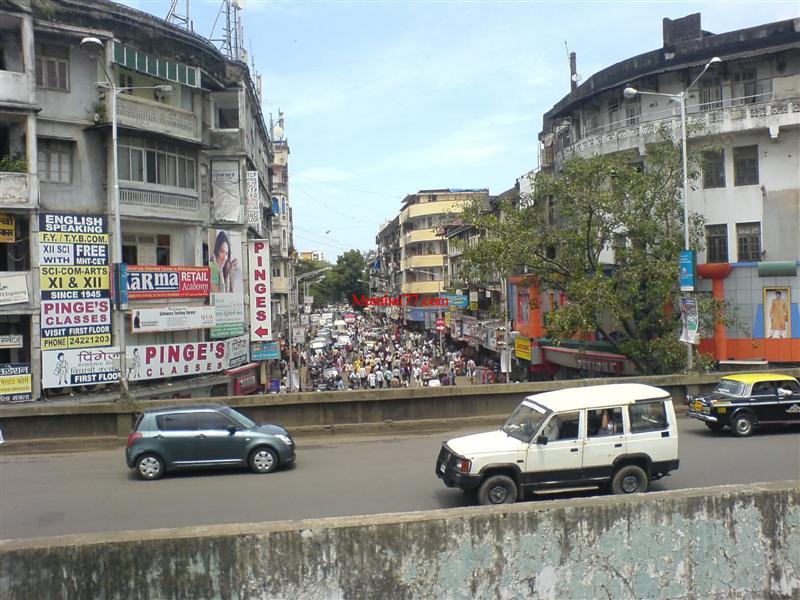 Dadar Station Flyover Old Photo