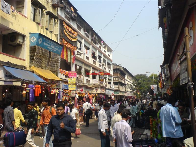 Dadar Station West Market