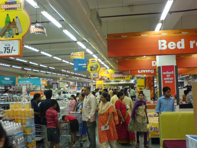 below are list of departmental stores also called supermarkets with
