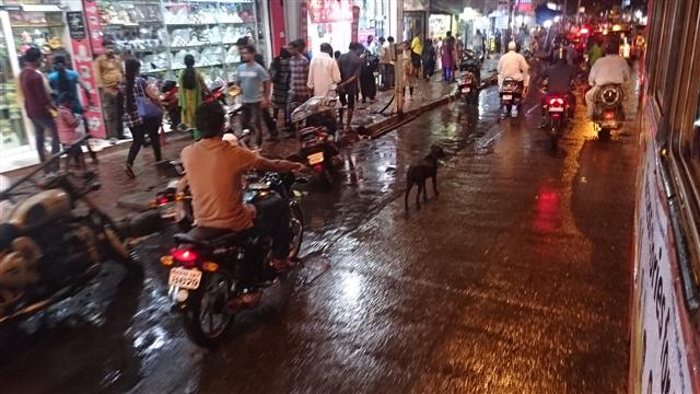 Last Year Monsoon Picture of Andheri West SV Road