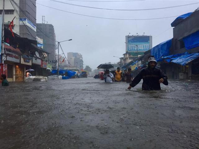Very Heavy Flooded Road