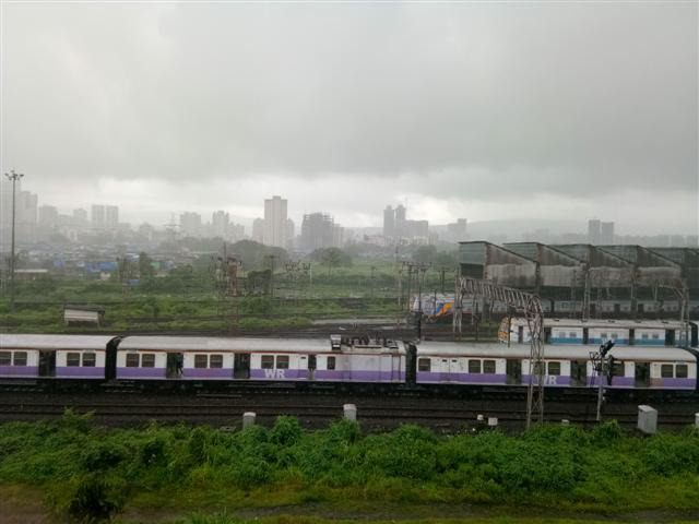 A Beautiful Aerial Click Of Kandivali Car Shed