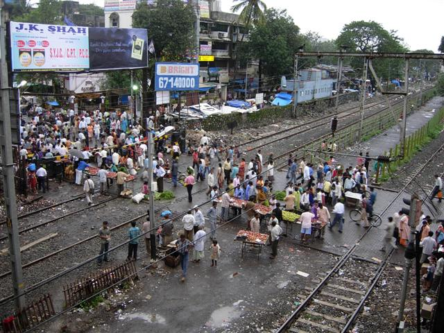 Kandivali Railway Fatak Once