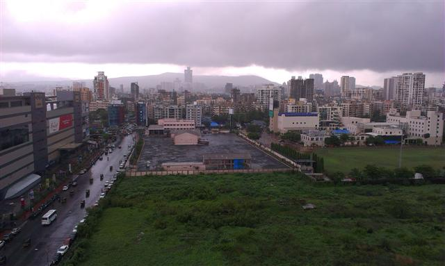 Another Aerial Monsoon View Malad