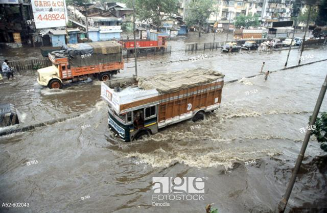 A Very Old Picture Of Mumbai Flooding