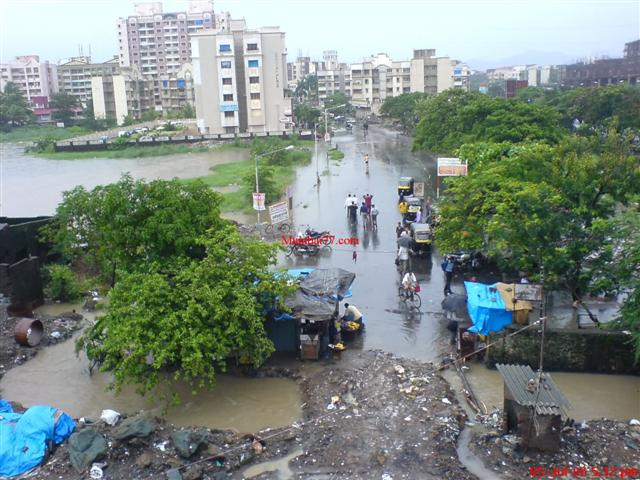 Old Mira Road Monsoon View