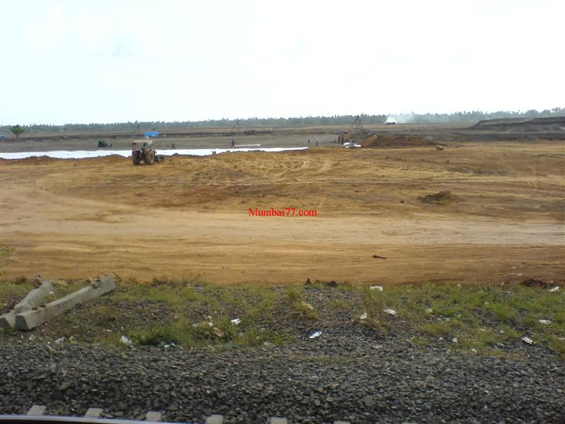 Virar Railway Yard Under Construction