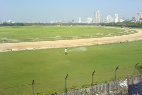 Race Course View From Mahalaxmi Station