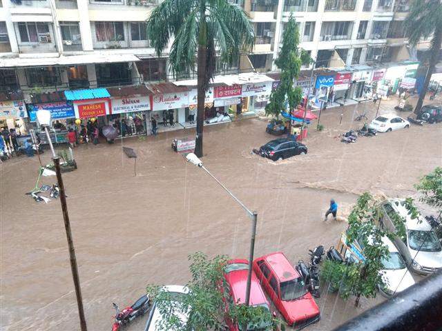 Flooding During Monsoon
