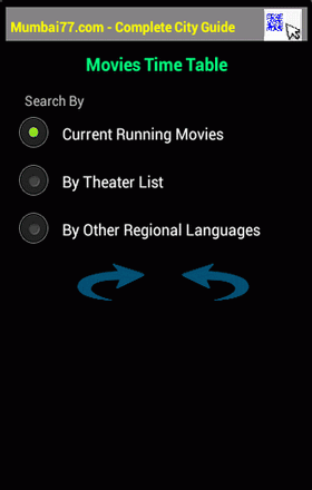 Android Movie Timetable For Mumbai